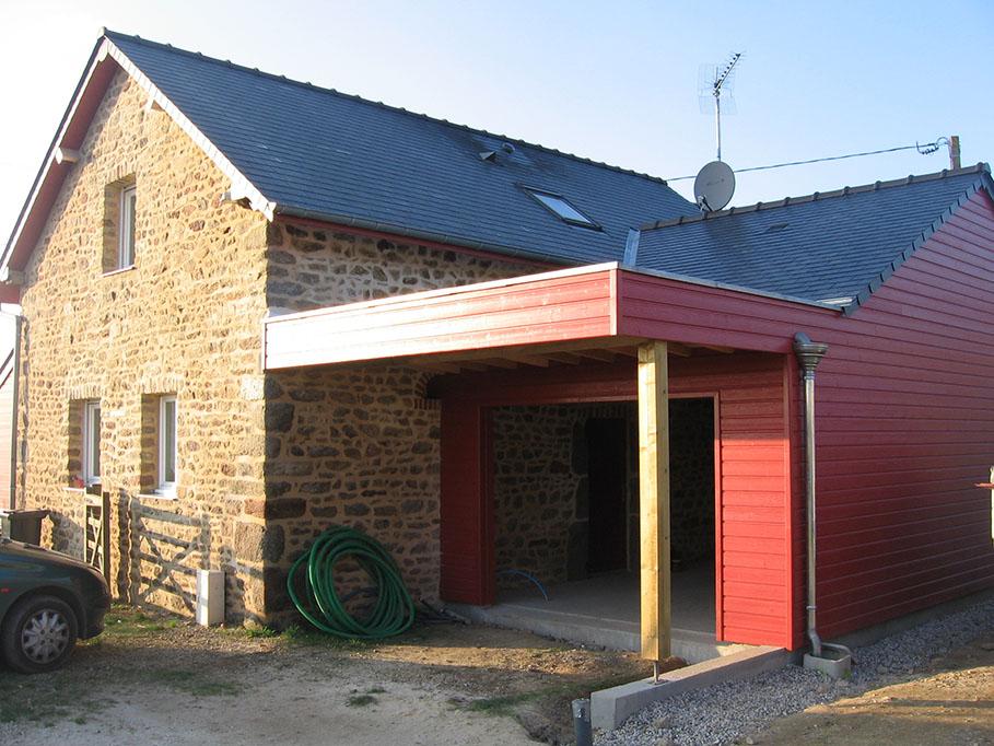 Olivier Martin Charpentier Mayenne 53 Ossature Bois 2 Copie